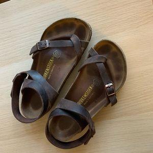 Birkenstock Yara Sandal - Habana Oiled Leather 37